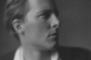 """Y.B. Yeats once described Rupert Brooke as """"the handsomest young man in England."""" Brooke died in 1915, at the age of 27, onboard a French hospital ship in the Aegean."""