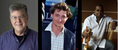 Bob Mondello, Benh Zeitlin, and Terence Blanchard.