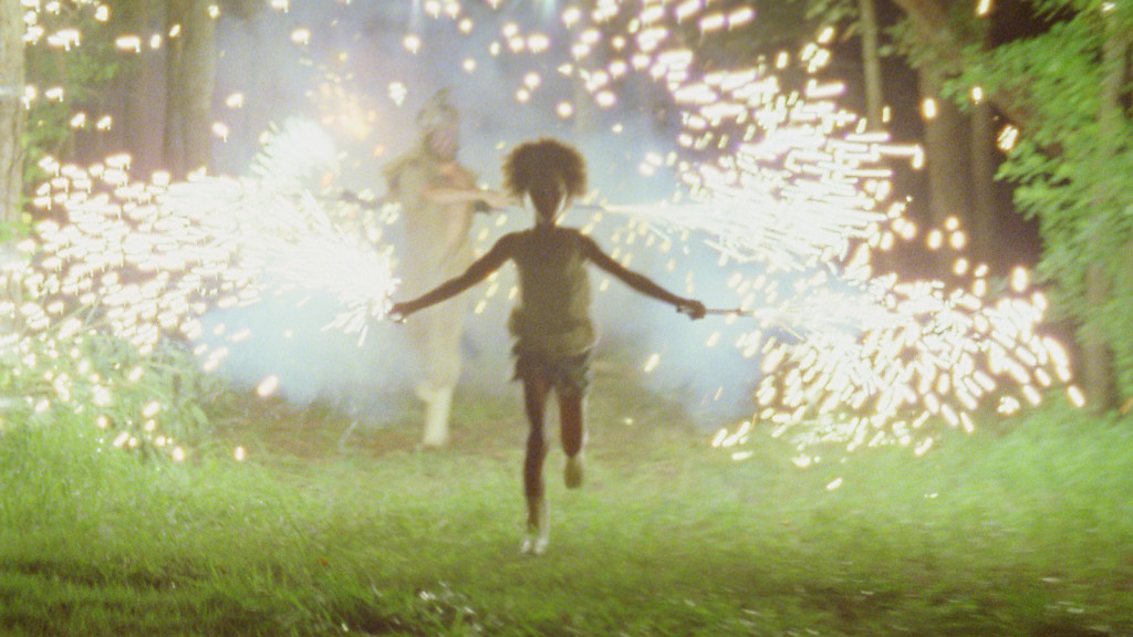 "The fireworks scene from ""Beasts of the Southern Wild"""