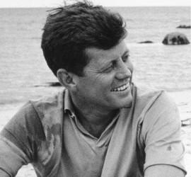 John F. KennedyAt Hyannis, 1959.© 2000 Mark Shaw