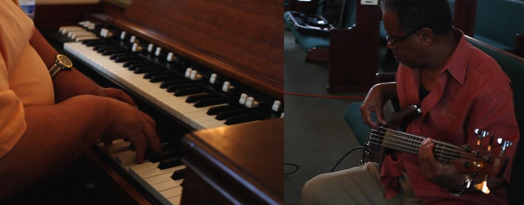 Zion Harmonizers Rehearsal