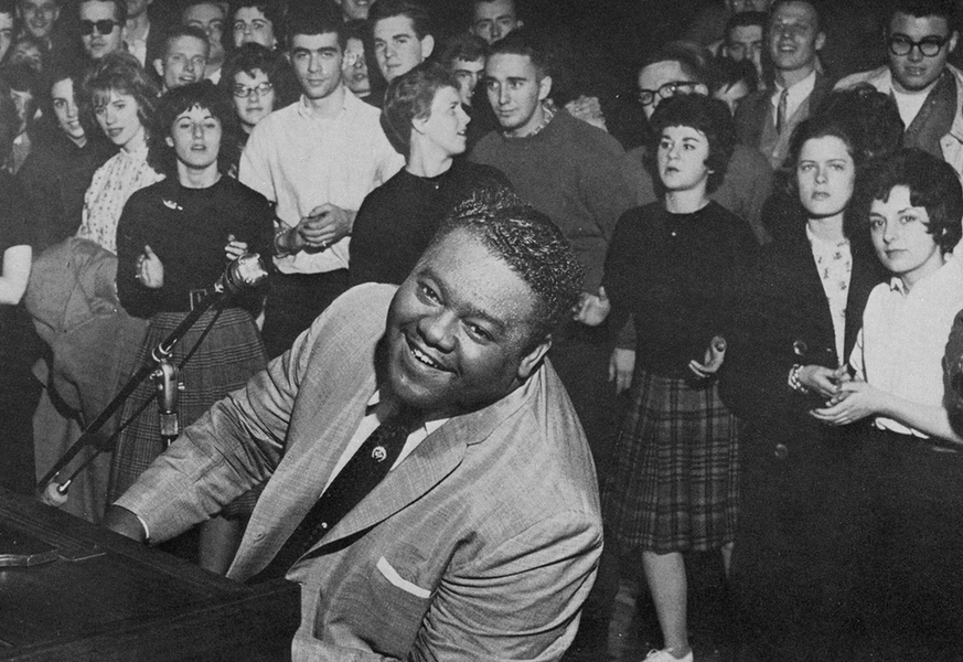 Fats Domino in February 1962