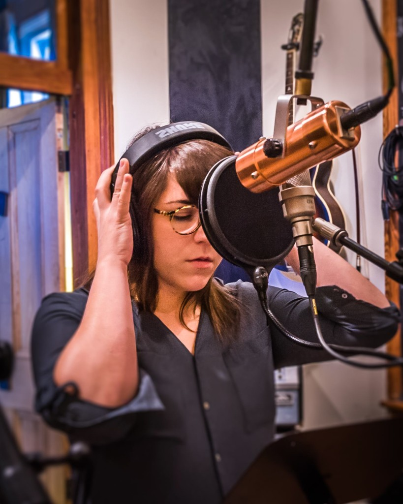 Alexis Marceaux, Vocal session at Bear America Records