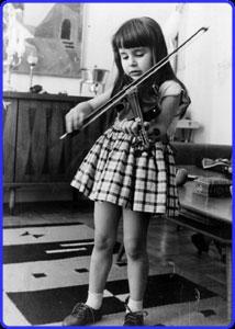 Young Nadja Salermo-Sonnenberg