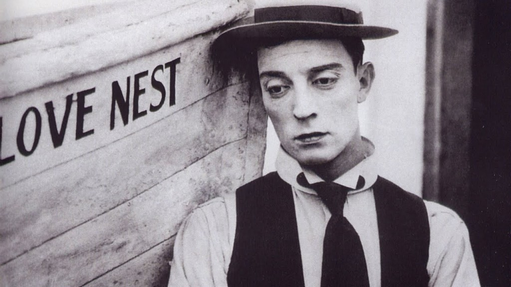 Buster Keaton, from Love Nest (1923)