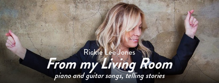 "Rickie Lee Jones livestream ""From My Living Room"""