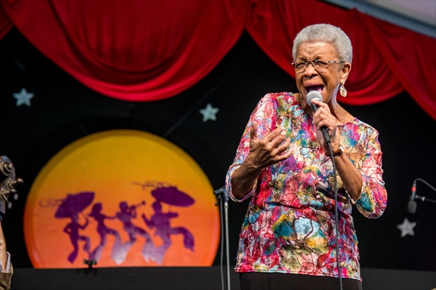 Germaine Bazzle at George and Joyce Wein Jazz & Heritage Center