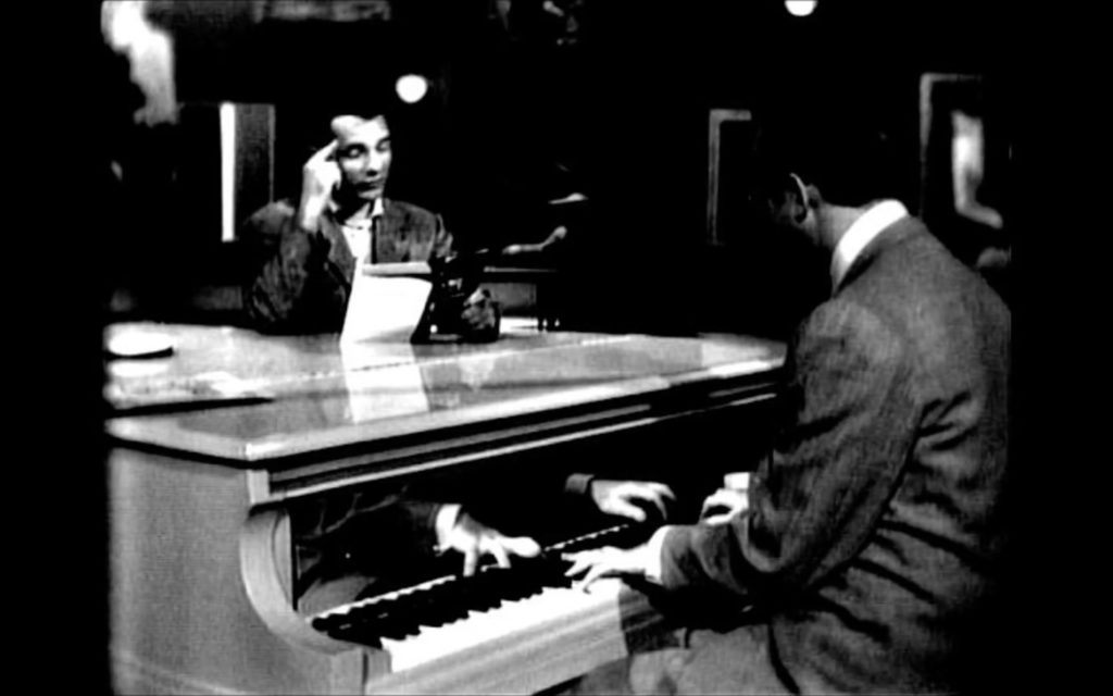 Jack Kerouac reads from Mexico City Blues, with Steve Allen at the piano.
