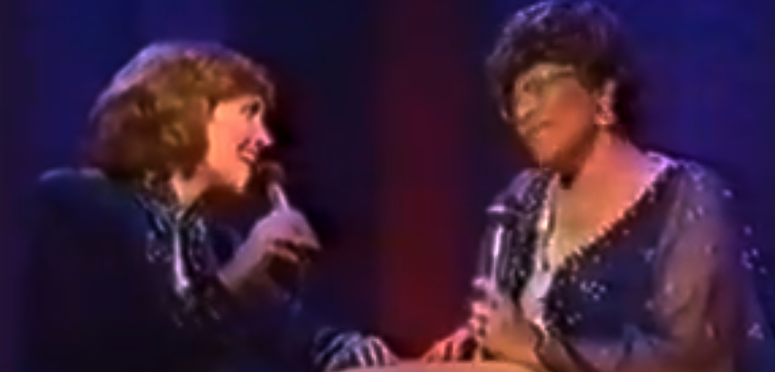 Karen Carpenter and Ella Fitzgerald