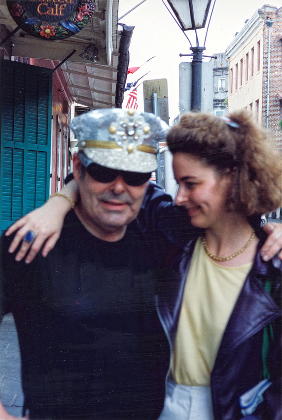 Noel Rockmore and Emilie Rhys in 1991